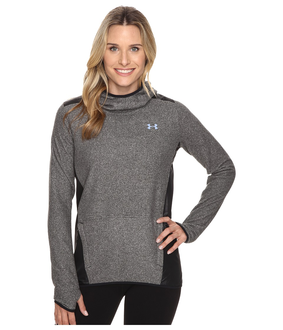 Under Armour - UA CGI Survivor Fleece Pullover Hoodie (Black/Black/Black) Women's Sweatshirt
