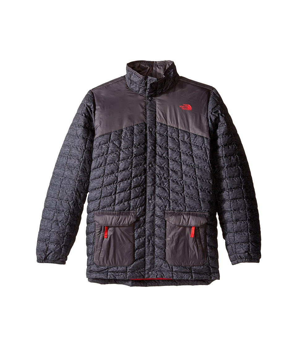 The North Face Kids - Hayden ThermoBall Jacket (Little Kids/Big Kids) (Graphite Grey Pixelated Heather) Boy's Coat