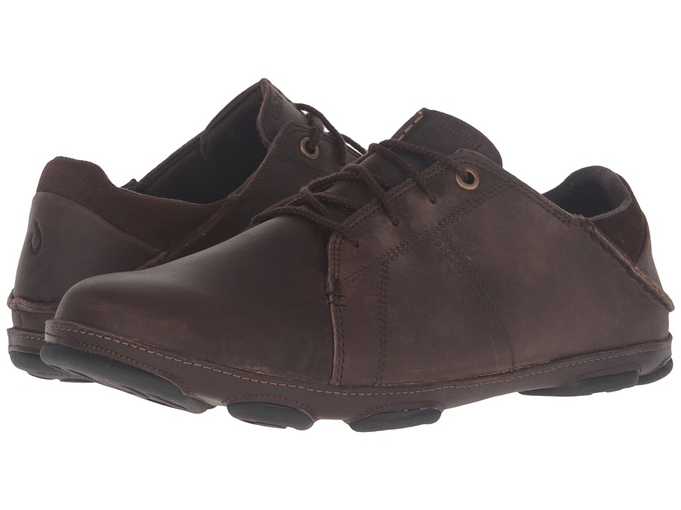 OluKai - Hano (Dark Wood/Dark Java) Men's Shoes