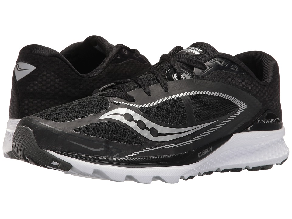 Saucony - Kinvara 7 (Black/White) Men's Shoes