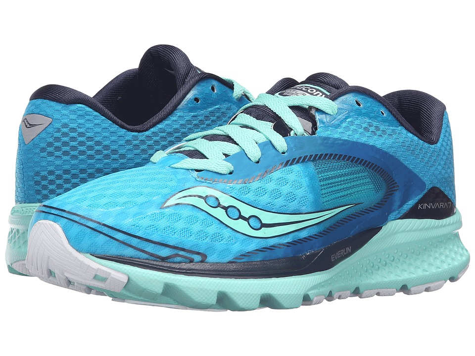 Saucony - Kinvara 7 (Teal/Navy/Silver) Women's Shoes