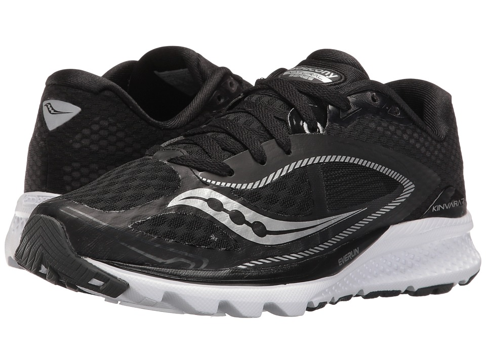 Saucony - Kinvara 7 (Black/White) Women's Shoes