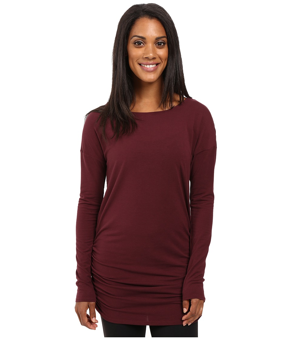 Lucy - Yoga Girl Long Sleeve Top (Fig) Women's Long Sleeve Pullover