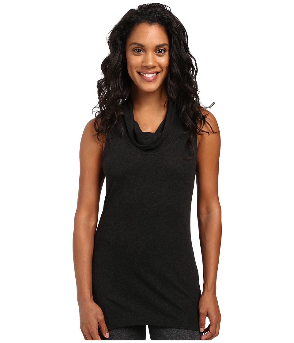 Lucy - Savasana Tunic (Lucy Black Heather) Women's Sleeveless
