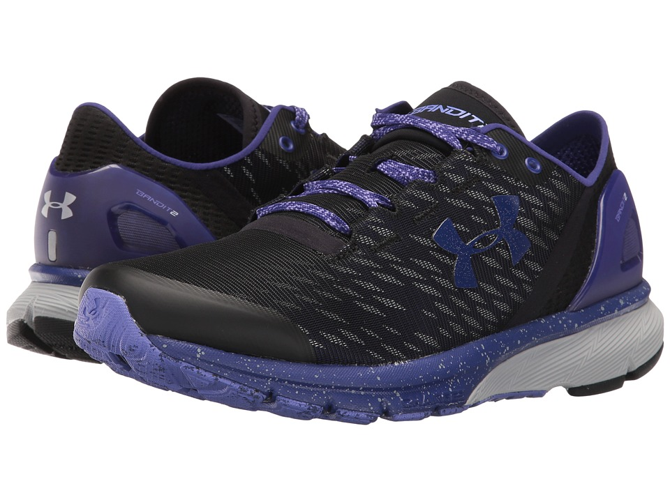 Under Armour - UA Charged Bandit 2 Night (Black/Grape Fusion/Grape Fusion) Women's Running Shoes