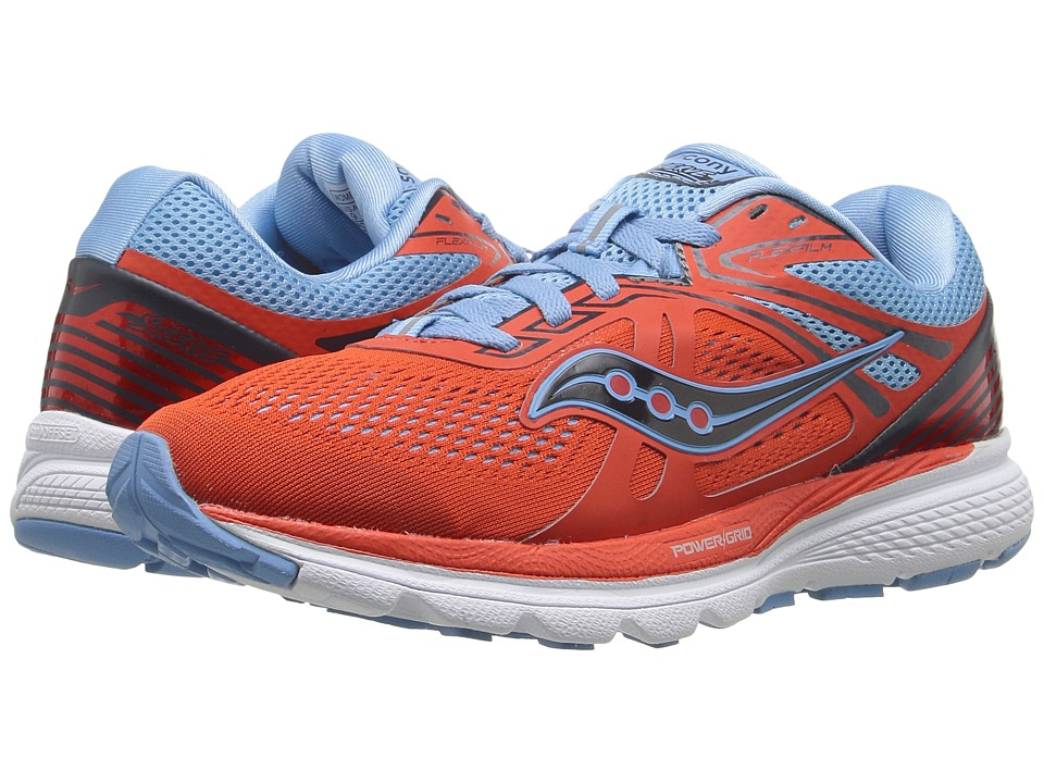 Saucony - Swerve (Orange/Blue) Women's Running Shoes
