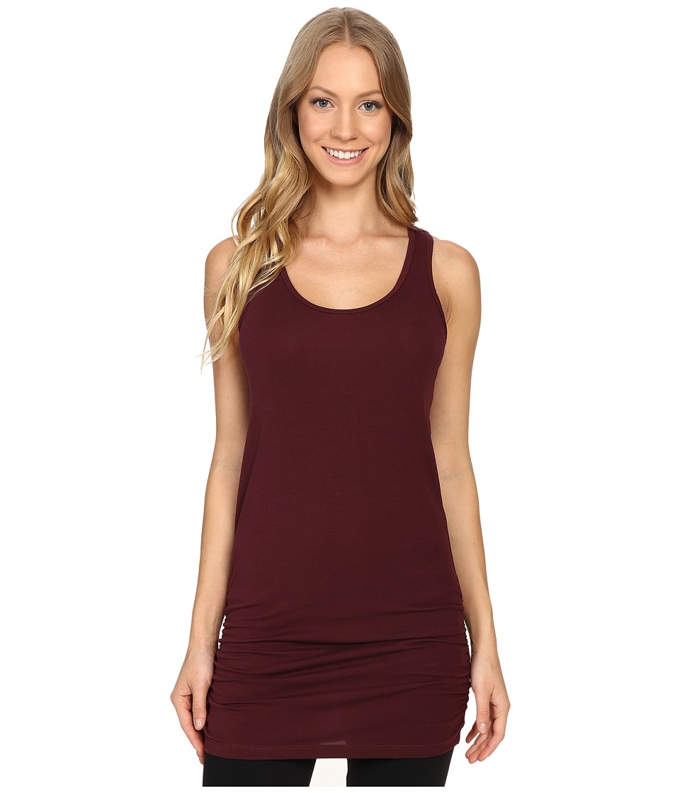 Lucy - Yoga Girl Sleeveless Tunic (Fig) Women's Sleeveless