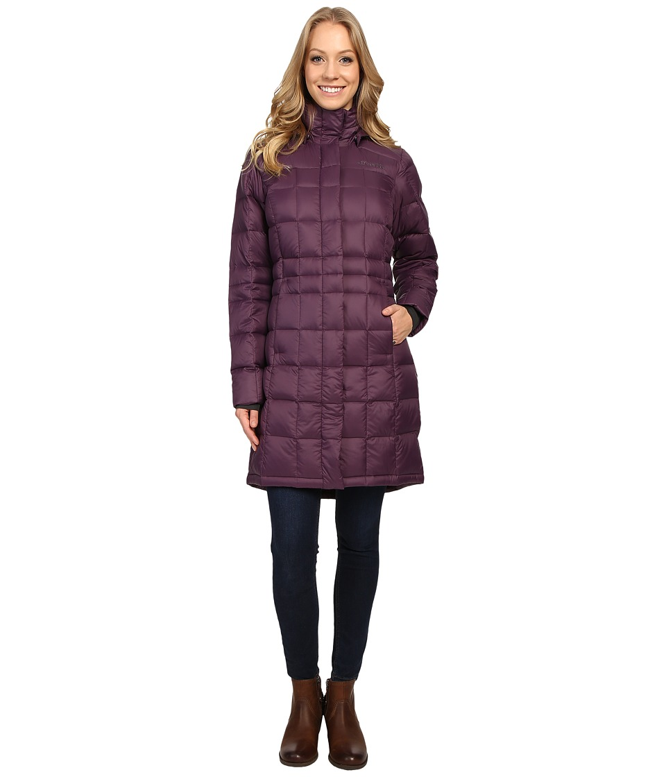 Columbia Hexbreakertm Long Down Jacket (Dusty Purple) Women