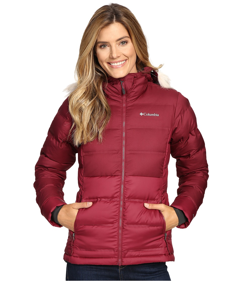 Columbia - North Protection Hooded Jacket (Chianti) Women's Coat