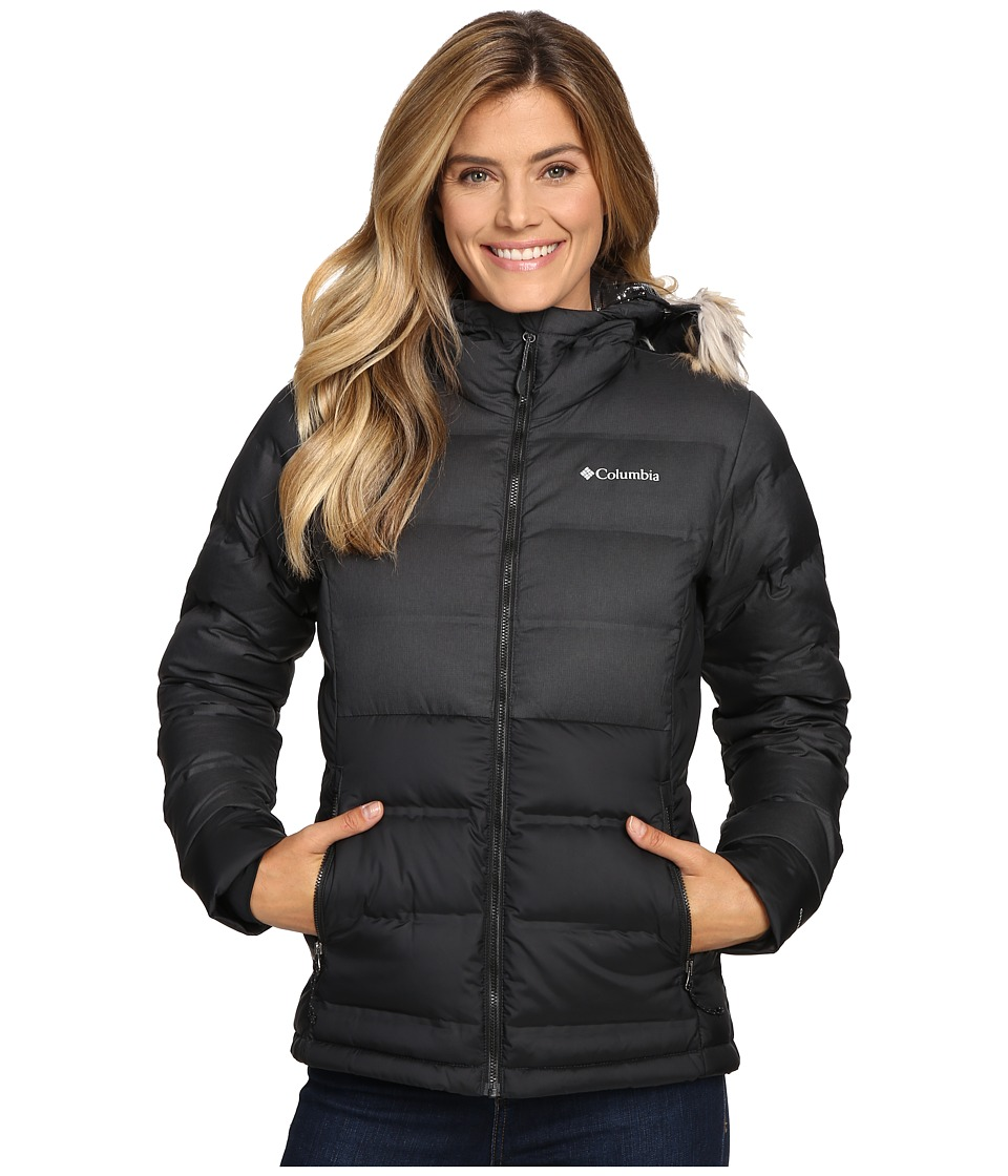 Columbia - North Protection Hooded Jacket (Black) Women's Coat