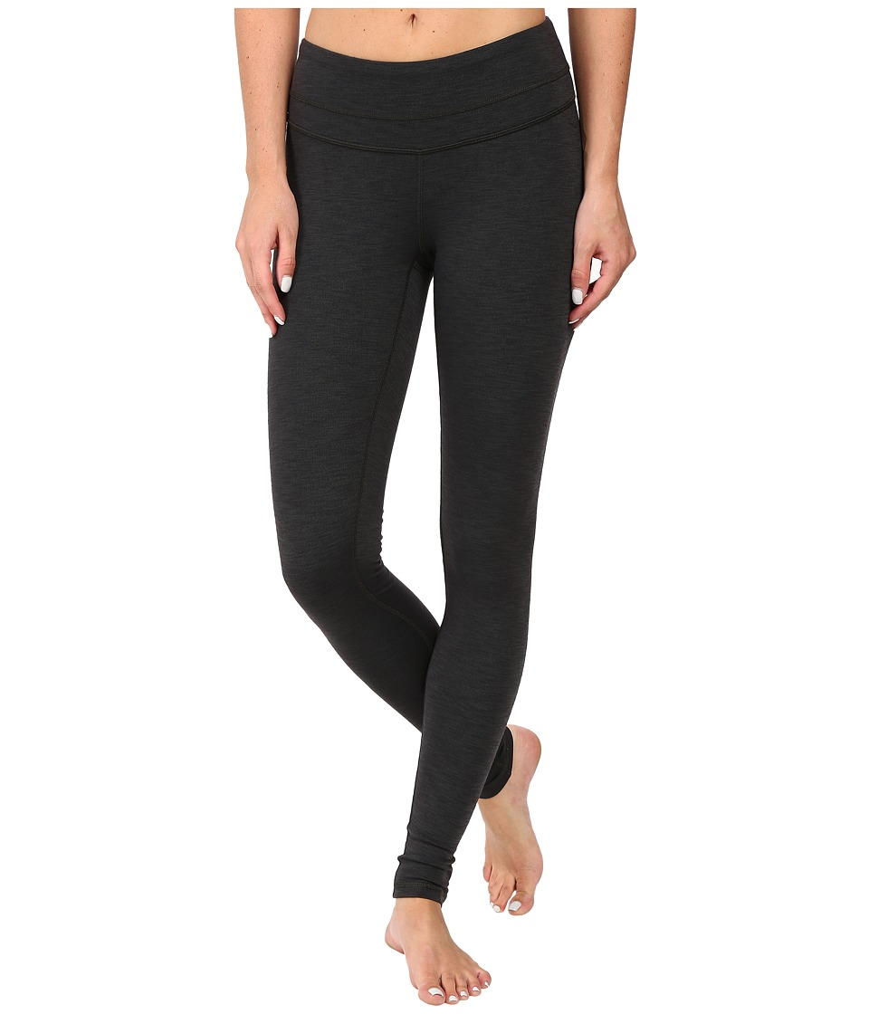 Lucy - Studio Hatha Legging (Deep Forest/Lucy Black Heather) Women's Workout