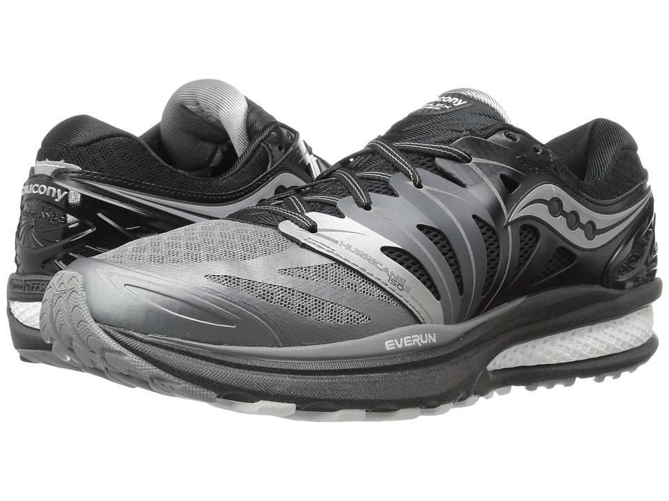 Saucony - Hurricane ISO 2 (Grey/White) Men's Shoes