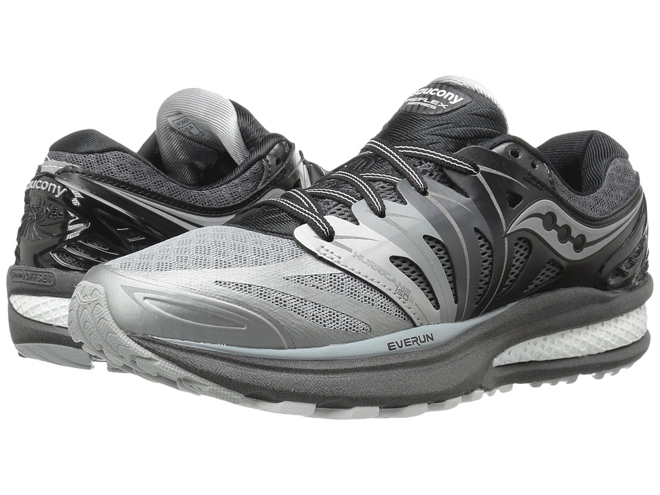 Saucony - Hurricane ISO 2 (Grey/White) Women's Shoes