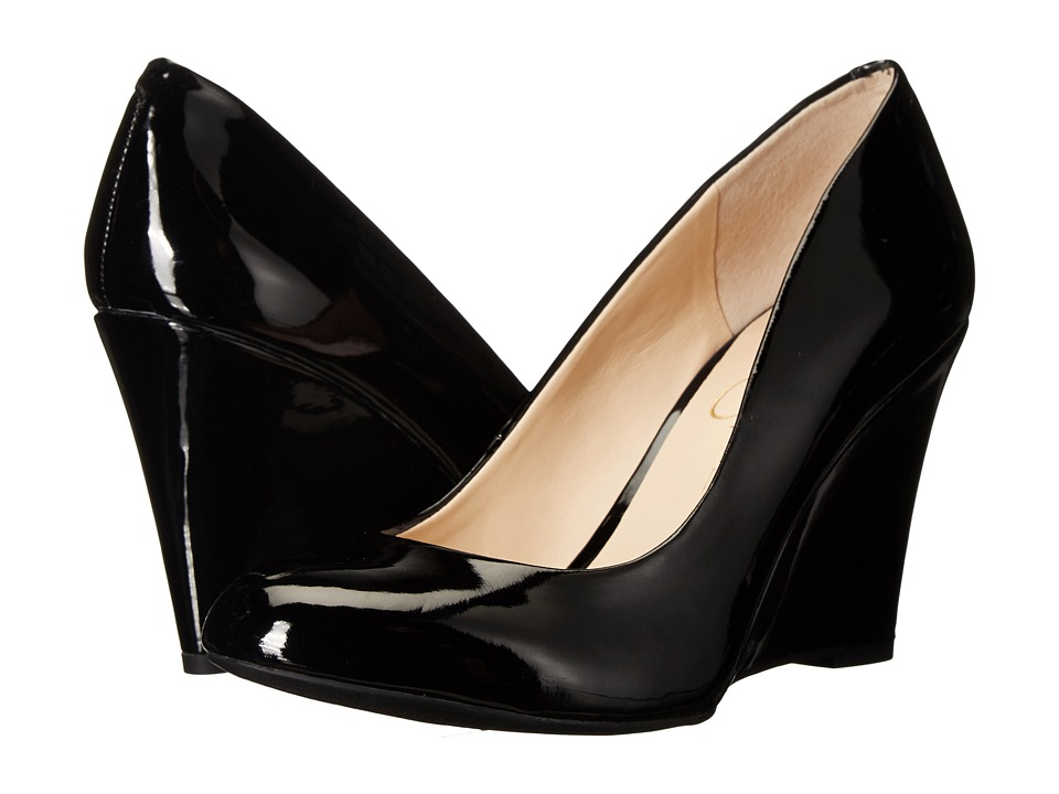 Jessica Simpson - Cash (Black) Women's Wedge Shoes