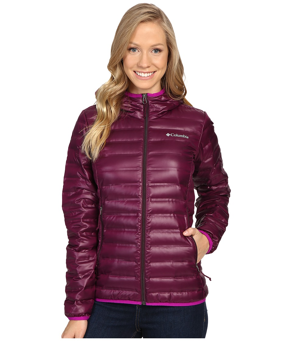 Columbia Flash Forward Hooded Down Jacket (Purple Dahlia/Bright Plum) Women