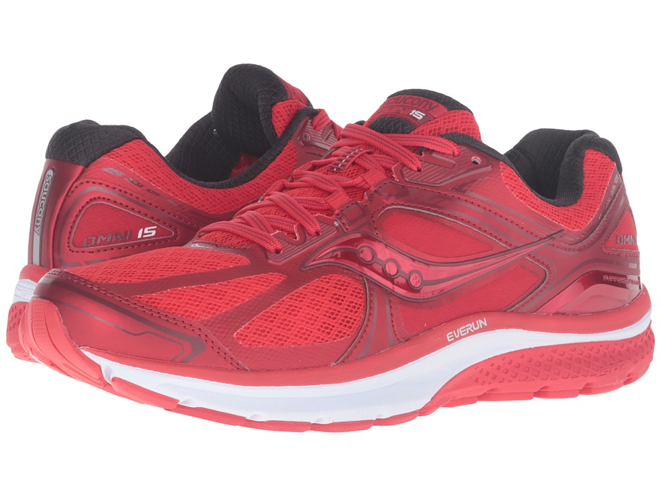 Saucony - Omni 15 (Race Day Red) Men's Running Shoes