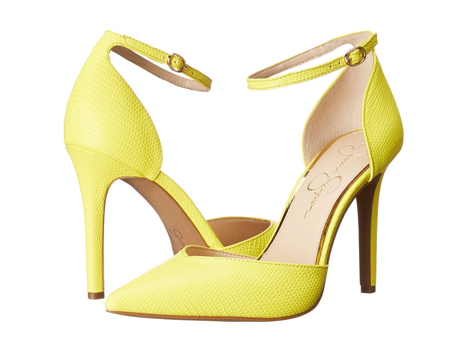 Jessica Simpson Cirrus (Sour Lemon) High Heels