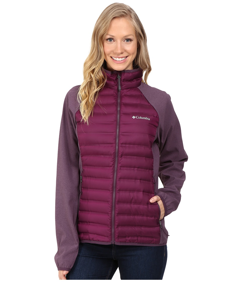 Columbia Flash Forward Hybrid Jacket (Purple Dahlia/Dusy Purple) Women