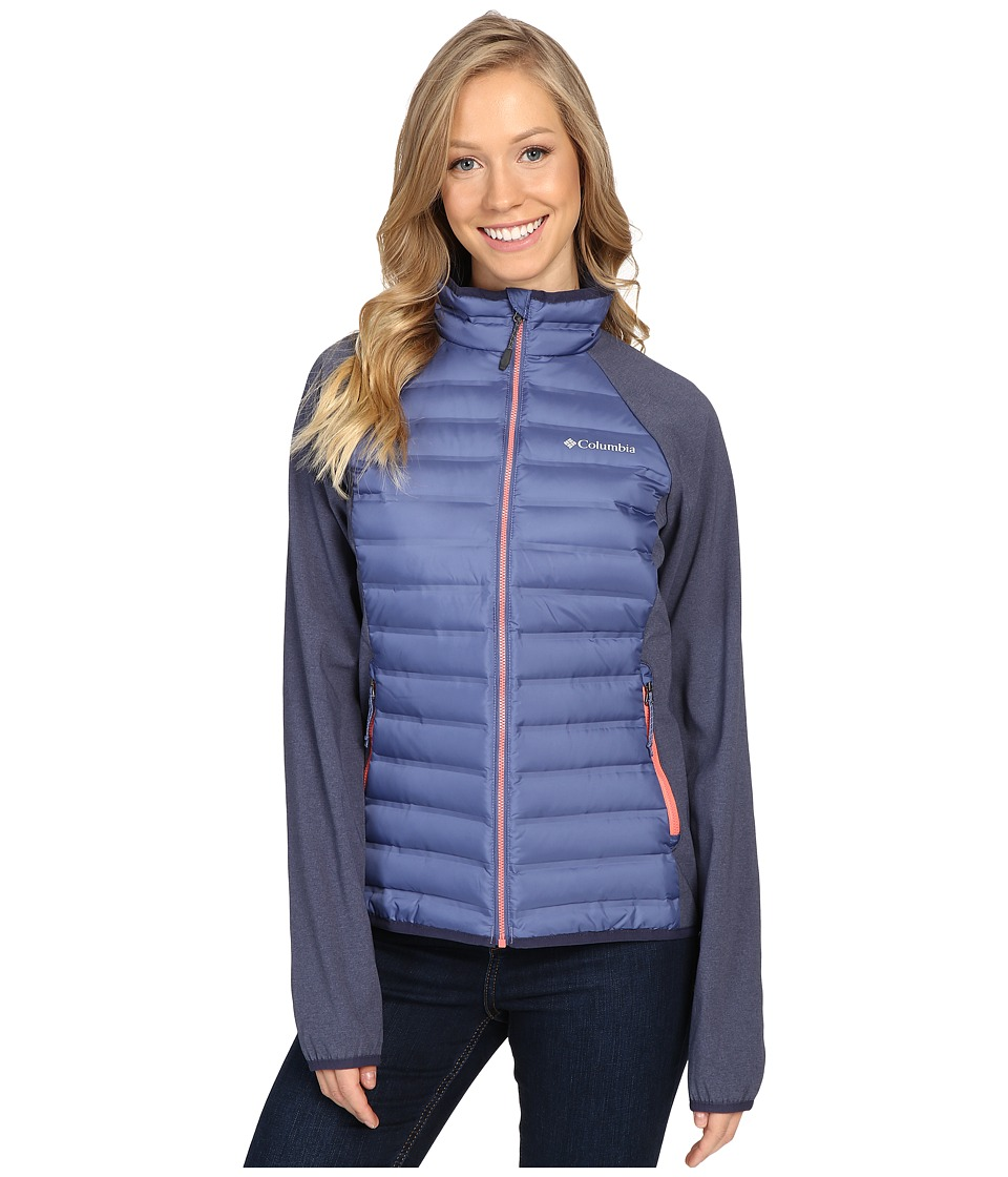 Columbia Flash Forward Hybrid Jacket (Bluebell/Nocturnal/Hot Coral) Women