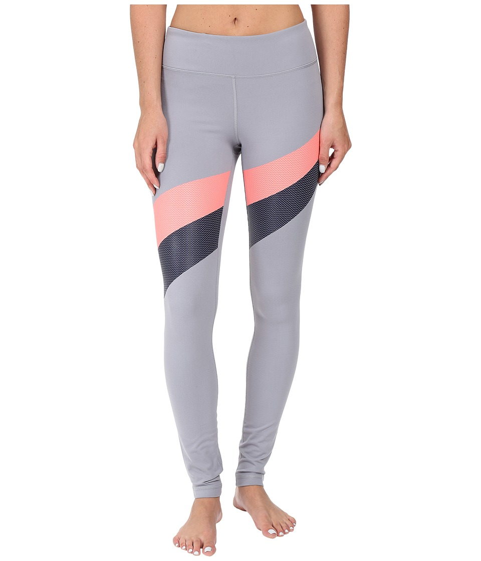 Under Armour - UA Mirror Stripe Leggings (Steel/Brilliance/Elemental) Women's Workout