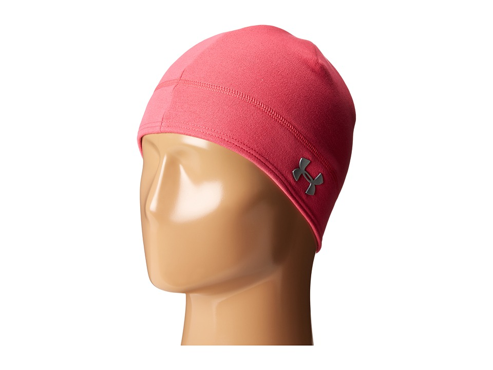 Under Armour - UA Elements Fleece Beanie (Pink Sky/Silver) Beanies