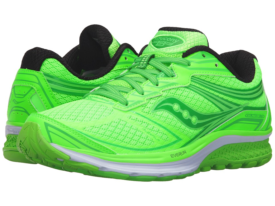 Saucony - Guide 9 (Toe the Lime) Men's Shoes