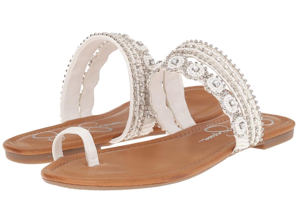 Jessica Simpson - Rakelle (Powder) Women's Toe Open Shoes
