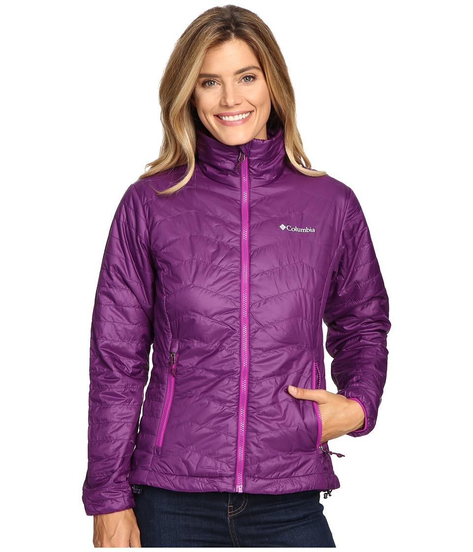 Columbia - Tumalt Creek Jacket (Iris Glow/Bright Plum) Women's Coat