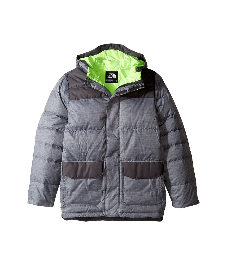 The North Face Kids - Harlan Down Parka (Little Kids/Big Kids) (TNF Medium Grey Heather) Boy's Coat