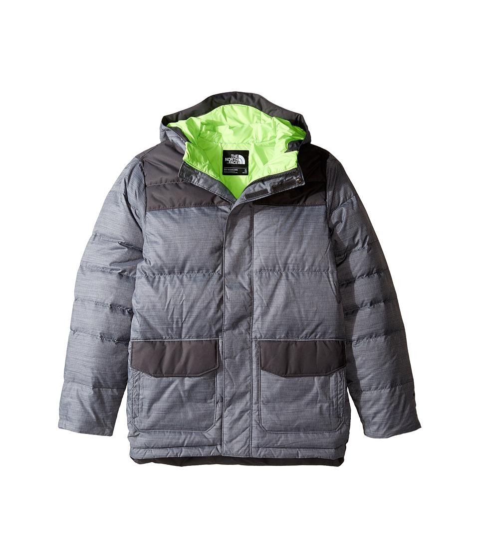The North Face Kids - Harlan Down Parka (Little Kids/Big Kids) (TNF Medium Grey Heather) Boy's Coat