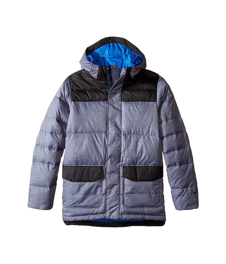 The North Face Kids - Harlan Down Parka (Little Kids/Big Kids) (Cosmic Blue Heather) Boy's Coat