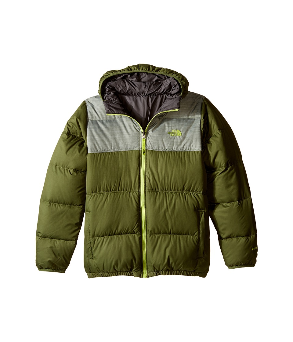 The North Face Kids Reversible Moondoggy Jacket (Little Kids/Big Kids) (Terrarium Green) Boy