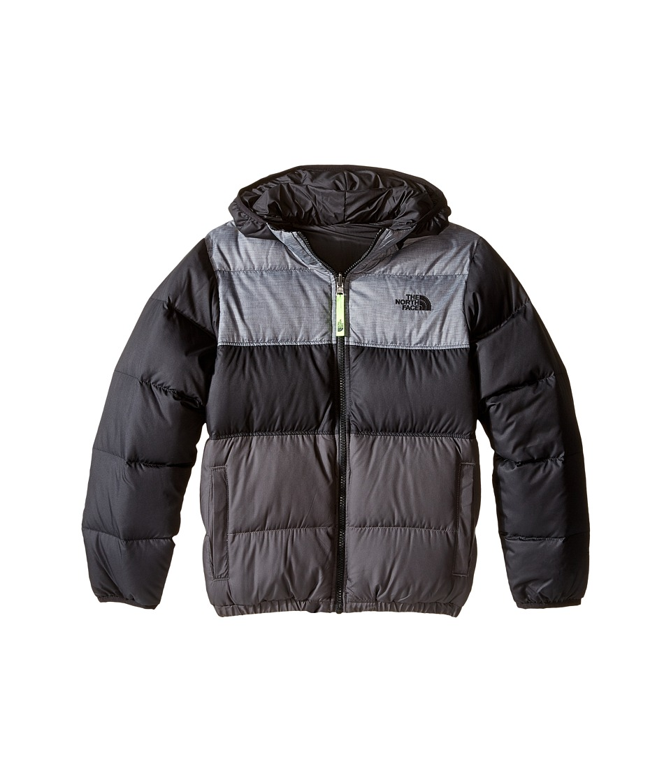 The North Face Kids Reversible Moondoggy Jacket (Little Kids/Big Kids) (TNF Black) Boy