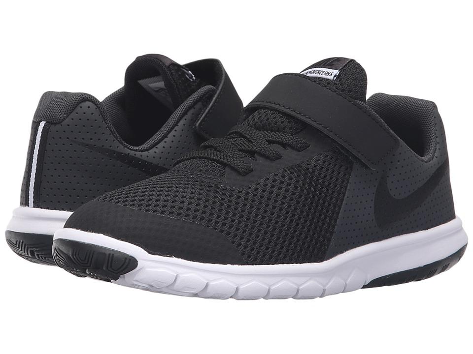 Nike Kids Flex Experience 5 (Little Kid) (Black/Anthracite/White/Black) Boys Shoes