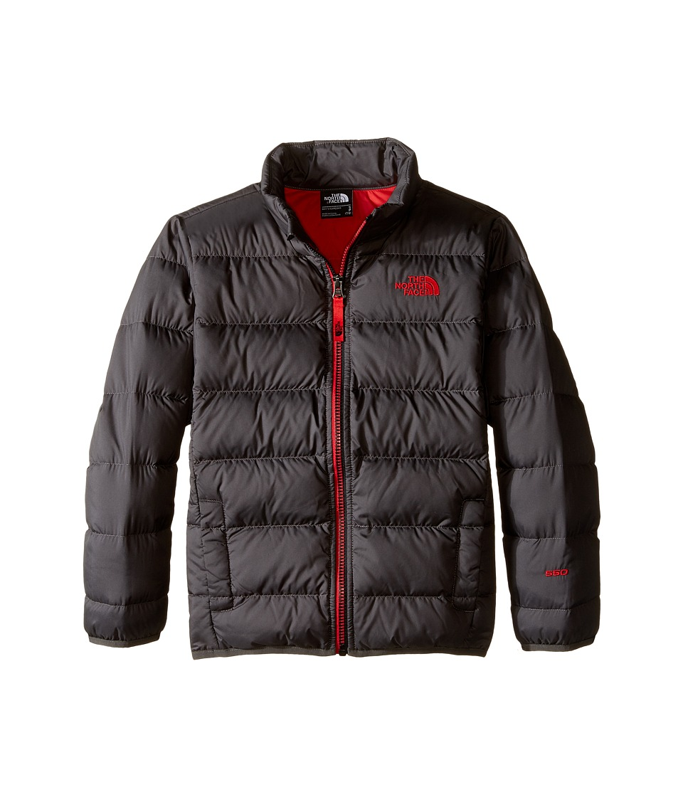 The North Face Kids - Andes Jacket (Little Kids/Big Kids) (Graphite Grey) Boy's Coat