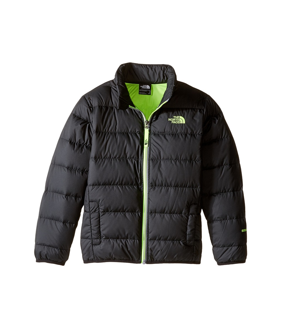 The North Face Kids - Andes Jacket (Little Kids/Big Kids) (TNF Black/Safety Green) Boy's Coat