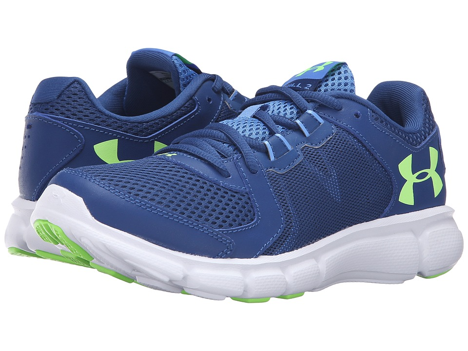 Under Armour - UA Thrill 2 (Heron/White/Limelight) Women's Running Shoes