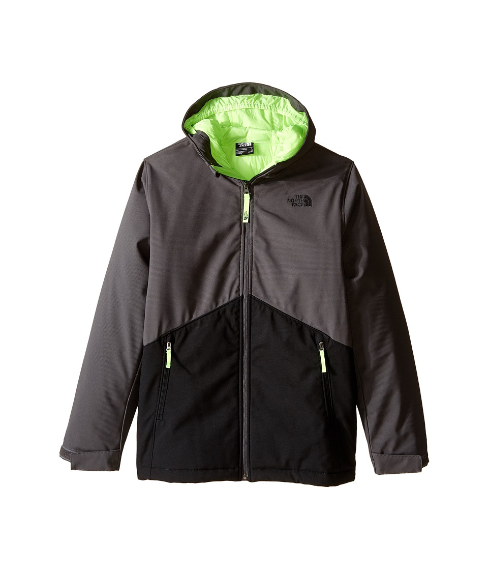 The North Face Kids - Apex Elevation (Little Kids/Big Kids) (Graphite Grey/TNF Black) Boy's Jacket