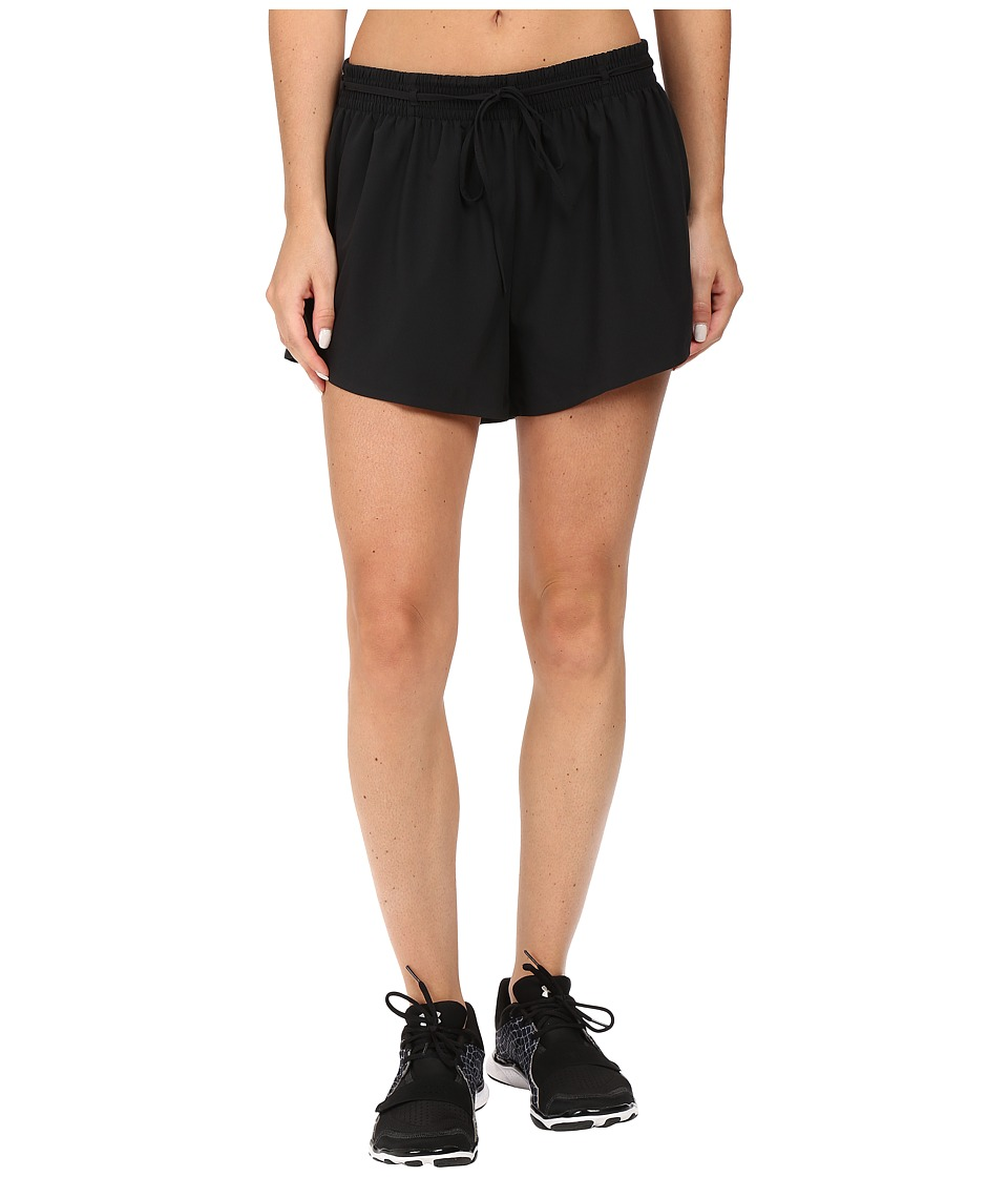 Under Armour - Easy Shorts (Black/Gray Area) Women's Shorts