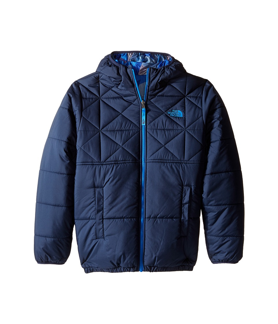 The North Face Kids - Reversible Perrito Jacket (Little Kids/Big Kids) (Cosmic Blue) Boy's Coat