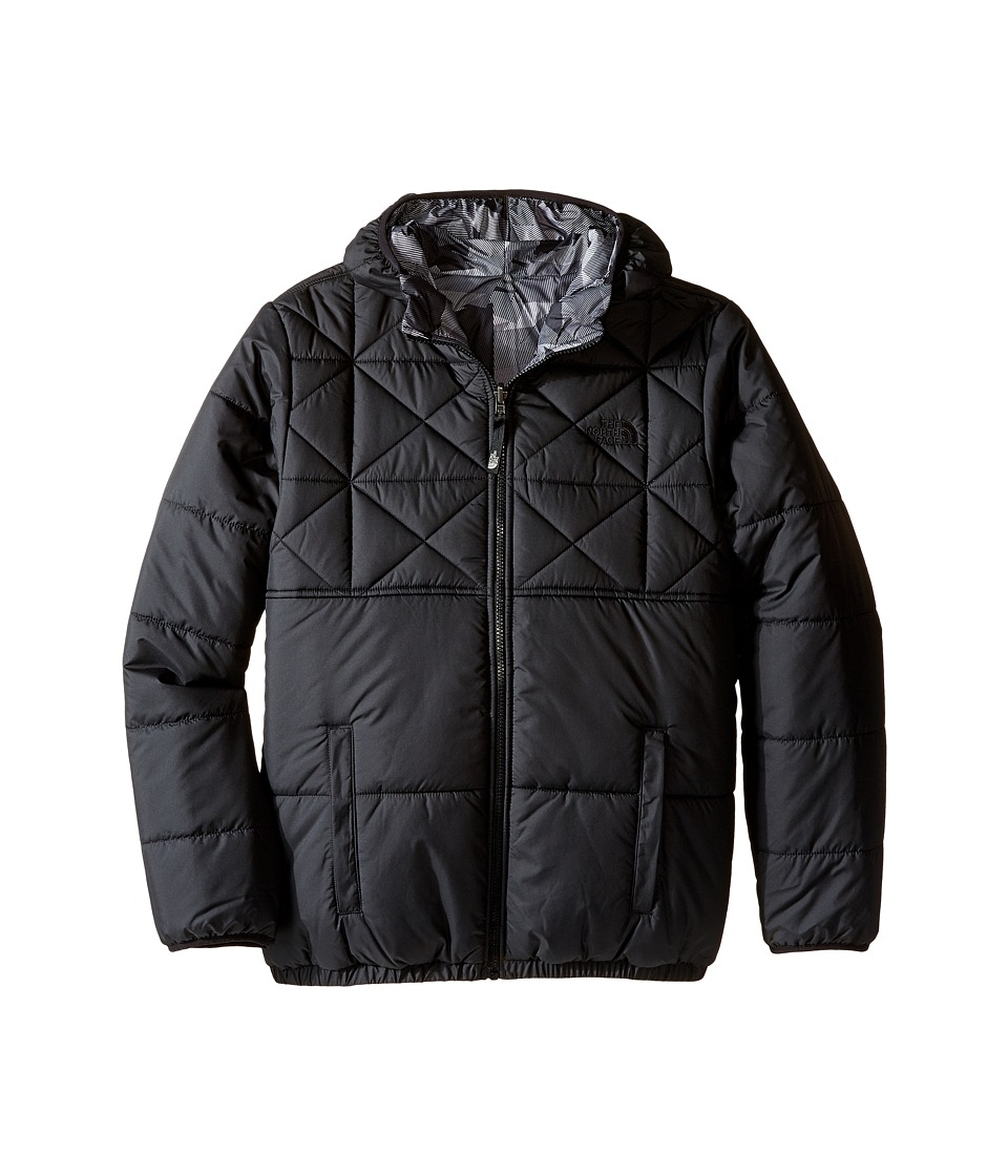 The North Face Kids - Reversible Perrito Jacket (Little Kids/Big Kids) (TNF Black) Boy's Coat