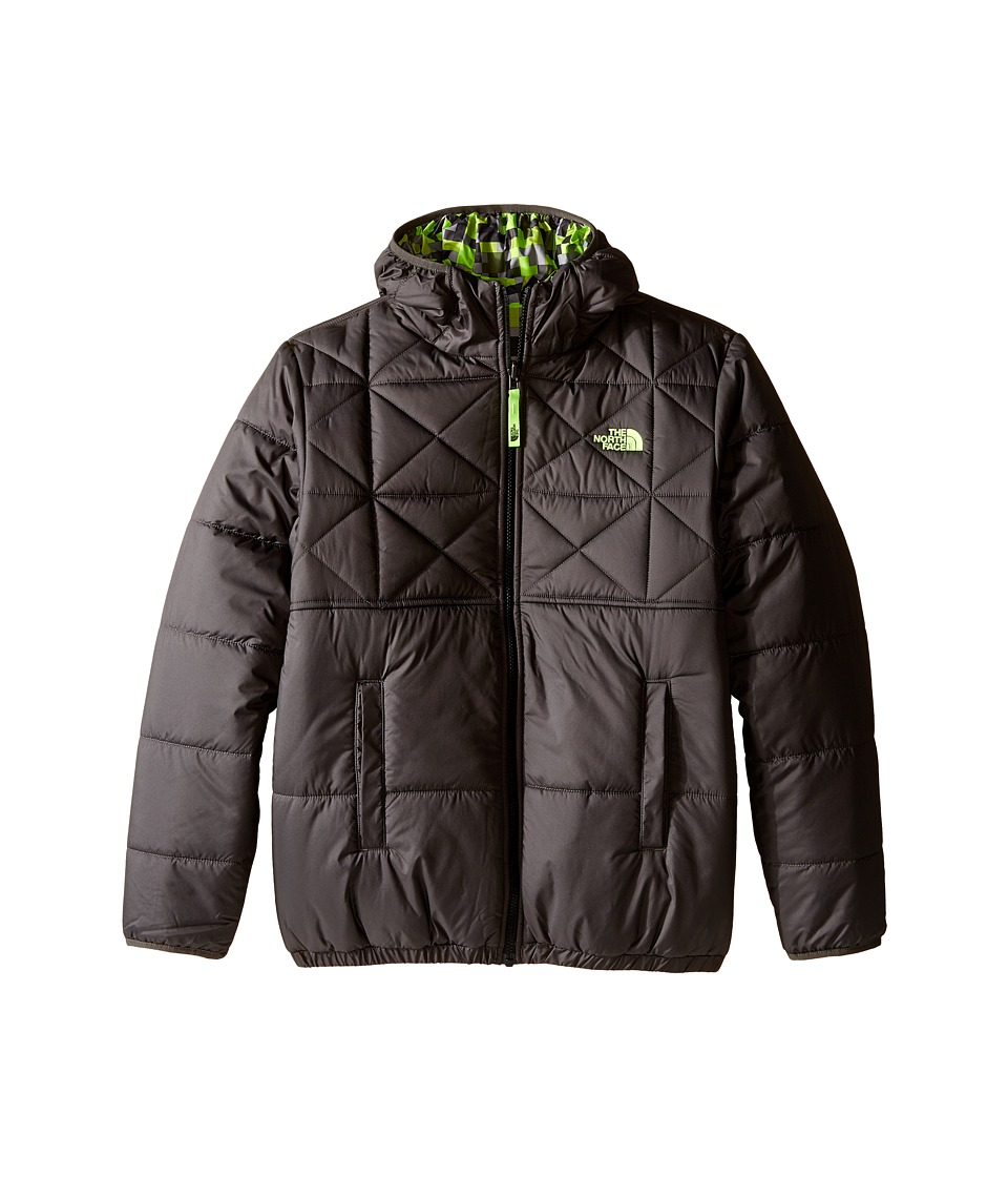 The North Face Kids - Reversible Perrito Jacket (Little Kids/Big Kids) (Graphite Grey) Boy's Coat