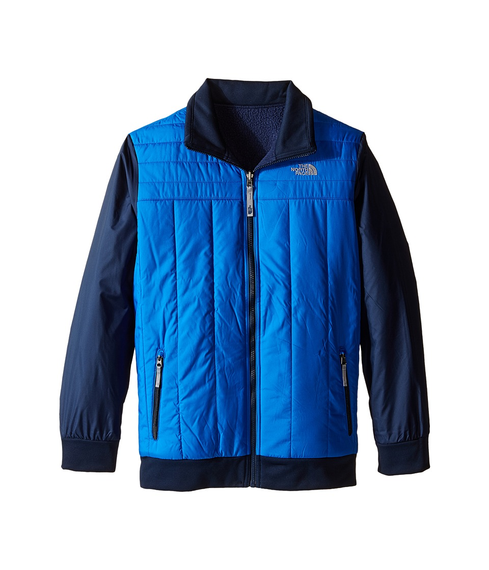 The North Face Kids - Reversible Yukon Jacket (Little Kids/Big Kids) (Jake Blue) Boy's Coat