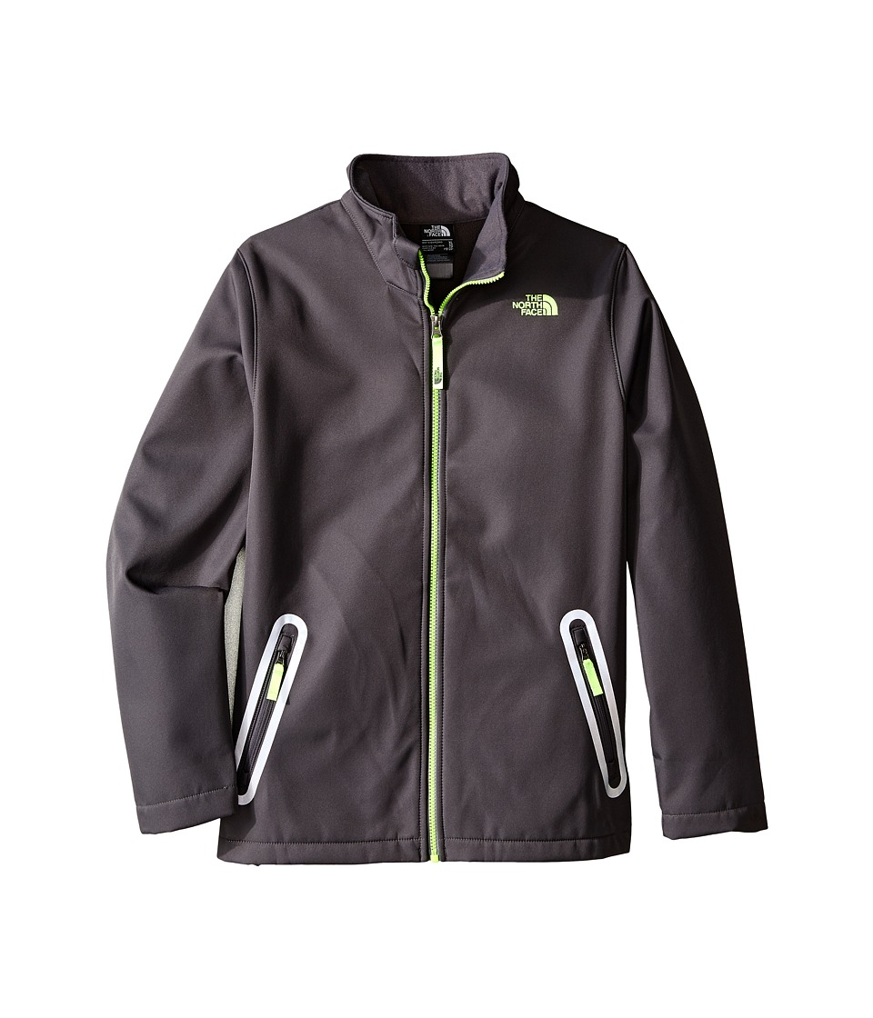 The North Face Kids - Apex Bionic Jacket (Little Kids/Big Kids) (Graphite Grey) Boy's Coat