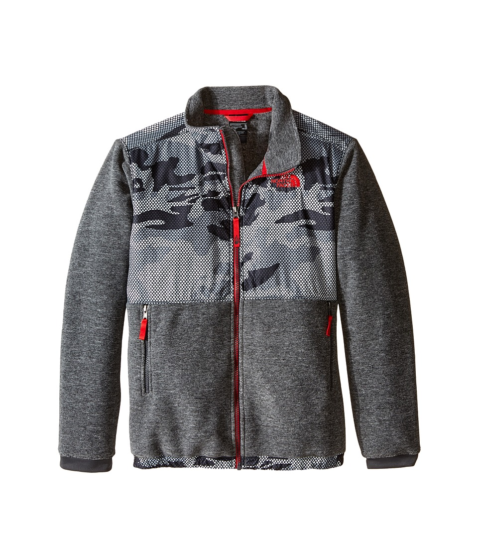 The North Face Kids - Denali Jacket (Little Kids/Big Kids) (Graphite Grey Mesh Camo) Boy's Coat