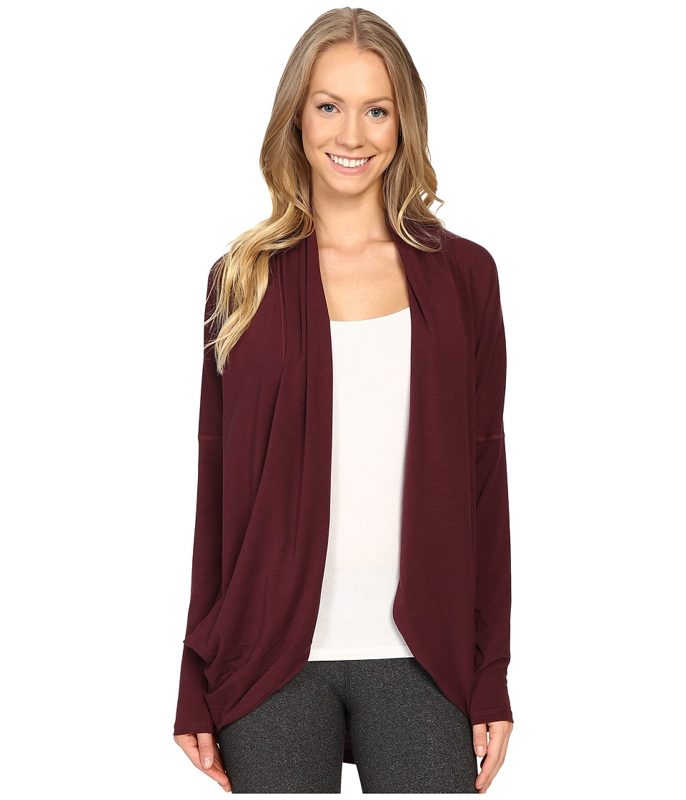 Lucy - Enlightening Wrap (Fig) Women's Long Sleeve Pullover