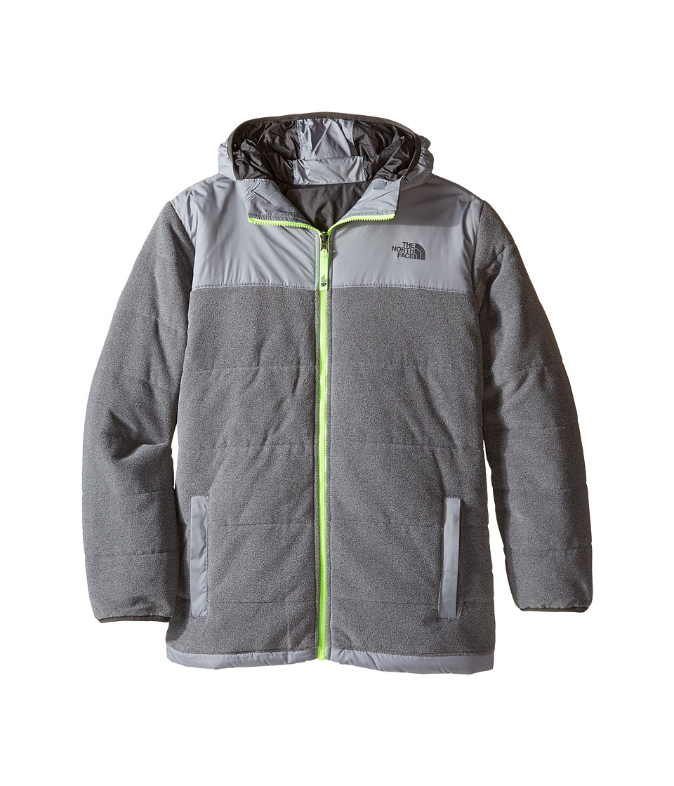 The North Face Kids - Reversible True or False Jacket (Little Kids/Big Kids) (TNF Medium Grey Heather) Boy's Coat