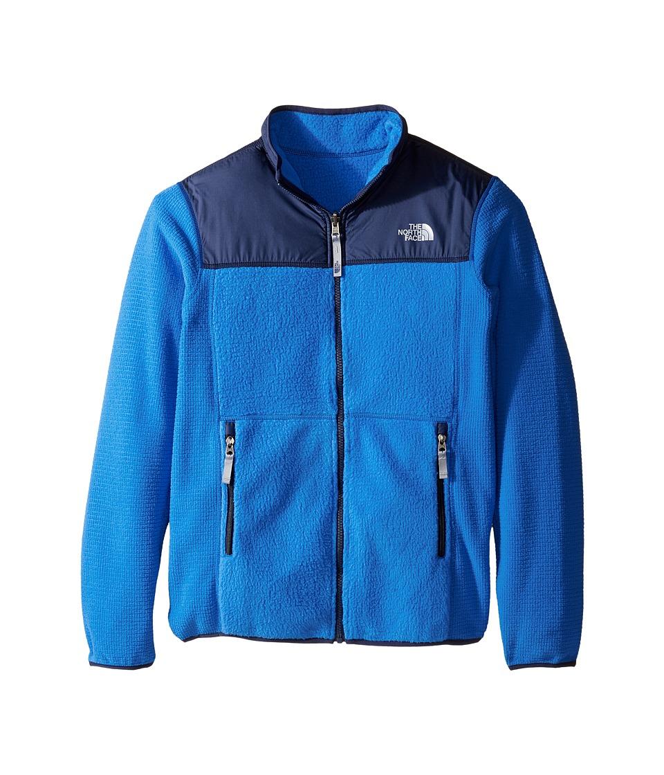 The North Face Kids - Reversible Off the Grid Jacket (Little Kids/Big Kids) (Jake Blue) Boy's Coat