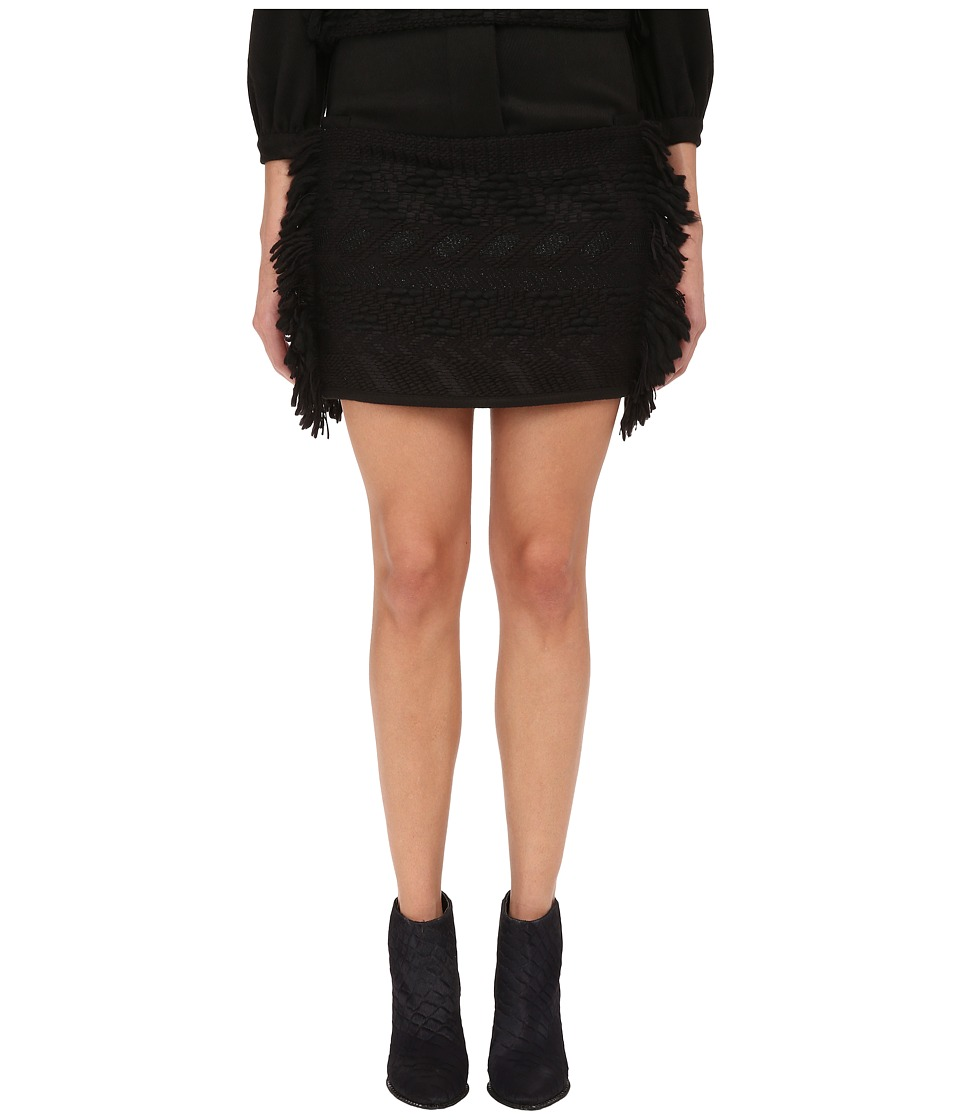 LOVE Binetti - Bob Dylan Skirt (Black) Women's Skirt