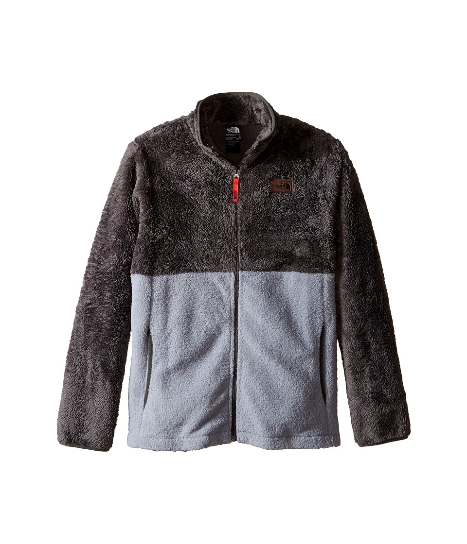 The North Face Kids - Sherparazo Jacket (Little Kids/Big Kids) (Mid Grey) Boy's Coat